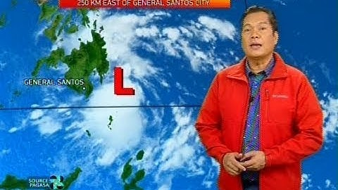 Low Pressure Area, magpapaulan sa Visayas at Mindanao bukas
