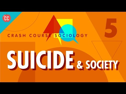 Émile Durkheim On Suicide & Society: Crash Course Sociology #5