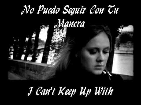 Turning Tables Adele Espanol English Lyrics