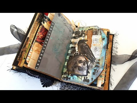 Gothic Junk Journal - An Anthology - Gothic by Nature - Swap with Shaina @ SB Artistry