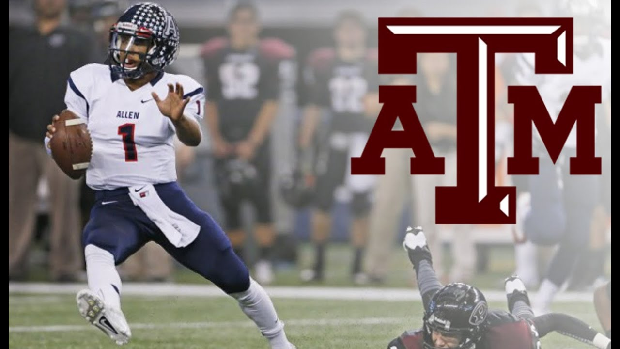 5 Star QB KYLER MURRAY 2014 Premium Highlights Texas AampM