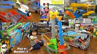 Thomas & Friends Sky-High Bridge Jump Trackmaster Set Fun Playtime with Marxlen!