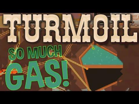 Turmoil - Lots of Gas, Little Oil Strategy - Highest Oil Price Yet! - Turmoil Gameplay Highlights