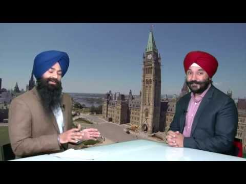 Sikh Channel Canada -  Navdeep S  Bains