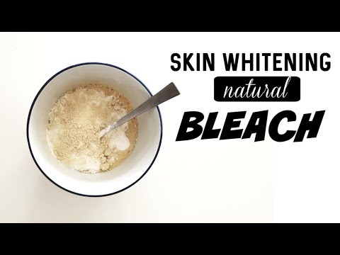 Skin Whitening Bleach To Get 2 Shades Fairer Skin Tone