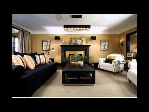 L shaped living dining room furniture arrangement youtube for V shaped living room