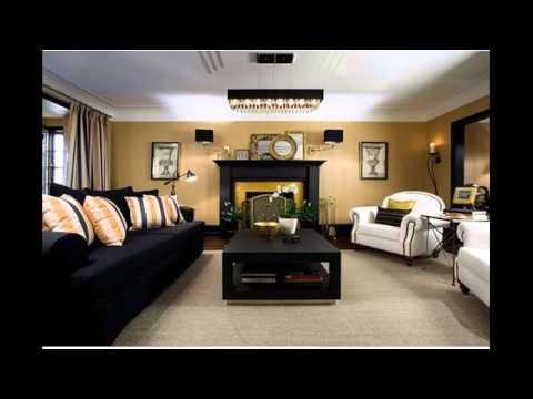 l shaped living dining room furniture arrangement - YouTube