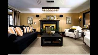 L shaped living dining room furniture arrangement