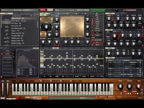 Toto - Africa demo - VPS Avenger - Analogue Classics Expansion