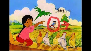 Meena Cartoon Murgi Chor