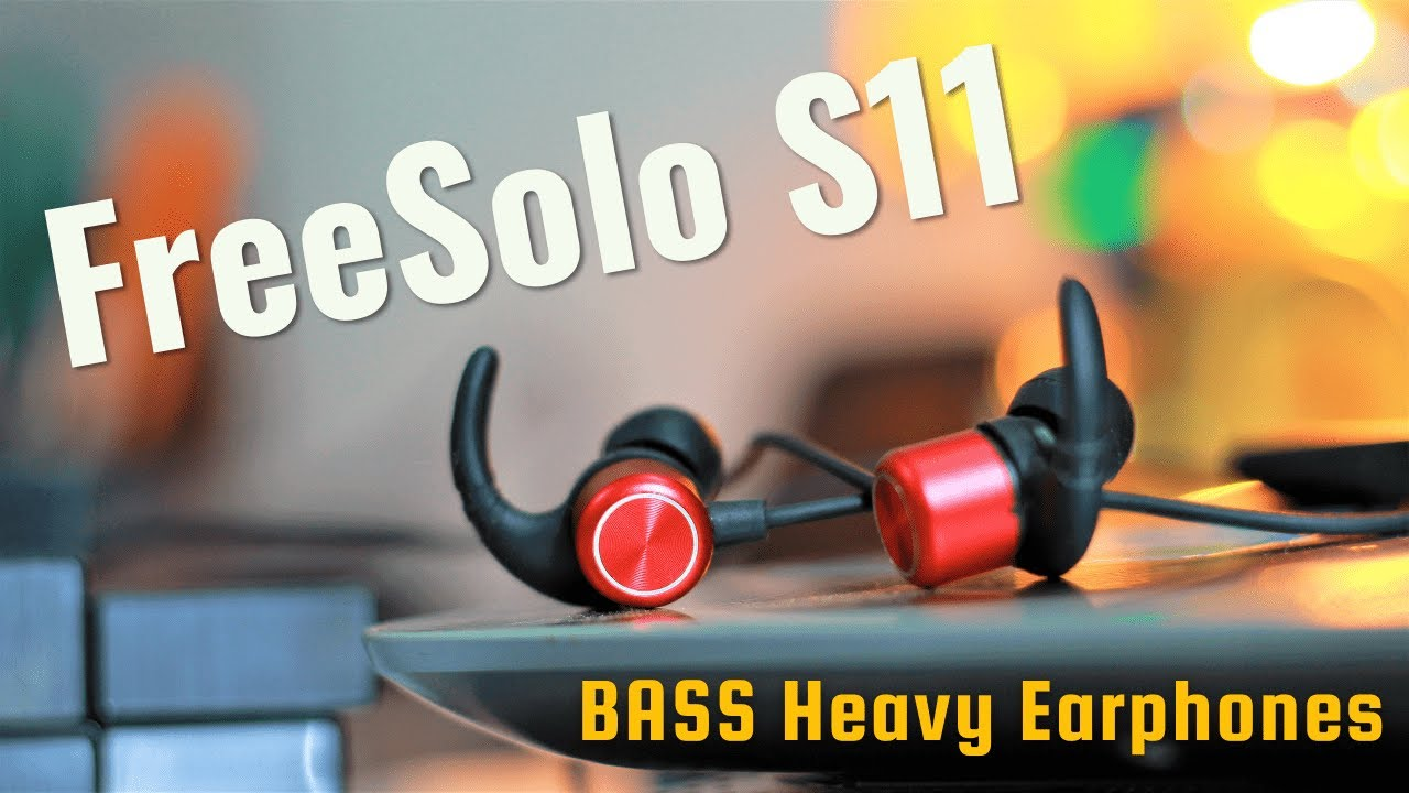 5c149baed2b FREESOLO S11 WeCool Bluetooth Earbuds : You RUN, They STAY ...