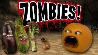 Annoying Orange - Top 5 Ways to Survive a Zombie Apocalypse