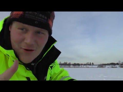 Isfiske på vårat vis. Del 3. Lake. Ice fishing for burbot.