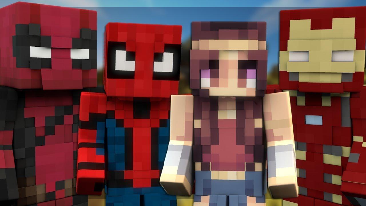10 minecraft superhero skins