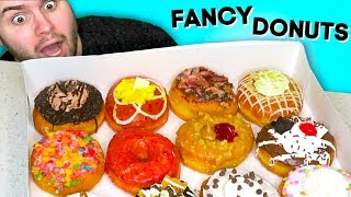 Trying donuts that were on the FOOD NETWORK... Mojo Donuts Taste Test