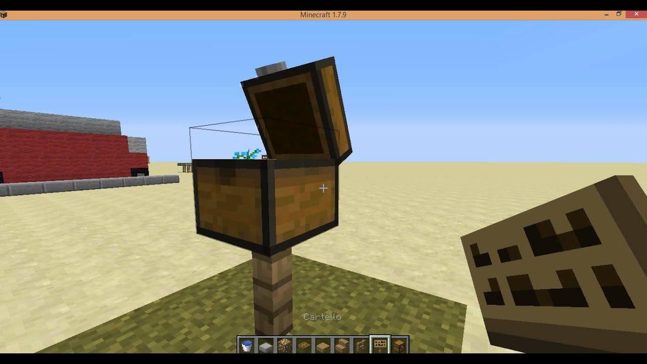 minecraft-come costruire arredamento da giardino #2 - youtube - Idee Arredamento Minecraft