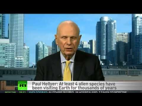 FORMER DEFENSE MINISTER OF CANADA SAYS 4 ALIEN SPECIES VISITING EARTH