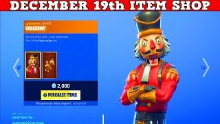 Fortnite Item Shop (December 19th) | Rare Crackshot Skin Is Back!