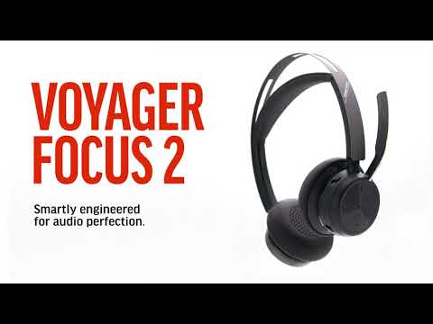 Introducing the Poly Voyager Focus 2 - 20 sec