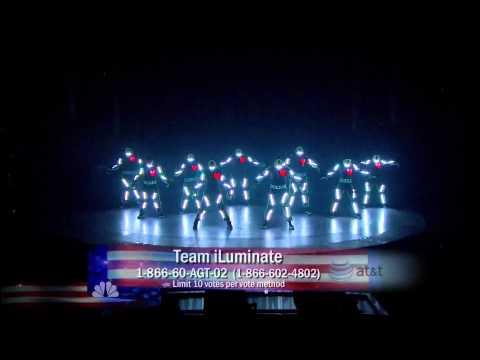 America's Got Talent - Team iLuminate - Grand Finale Performance [HD]