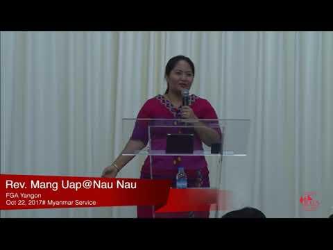 Rev. Mang Uap on October 22, 2017 (M)
