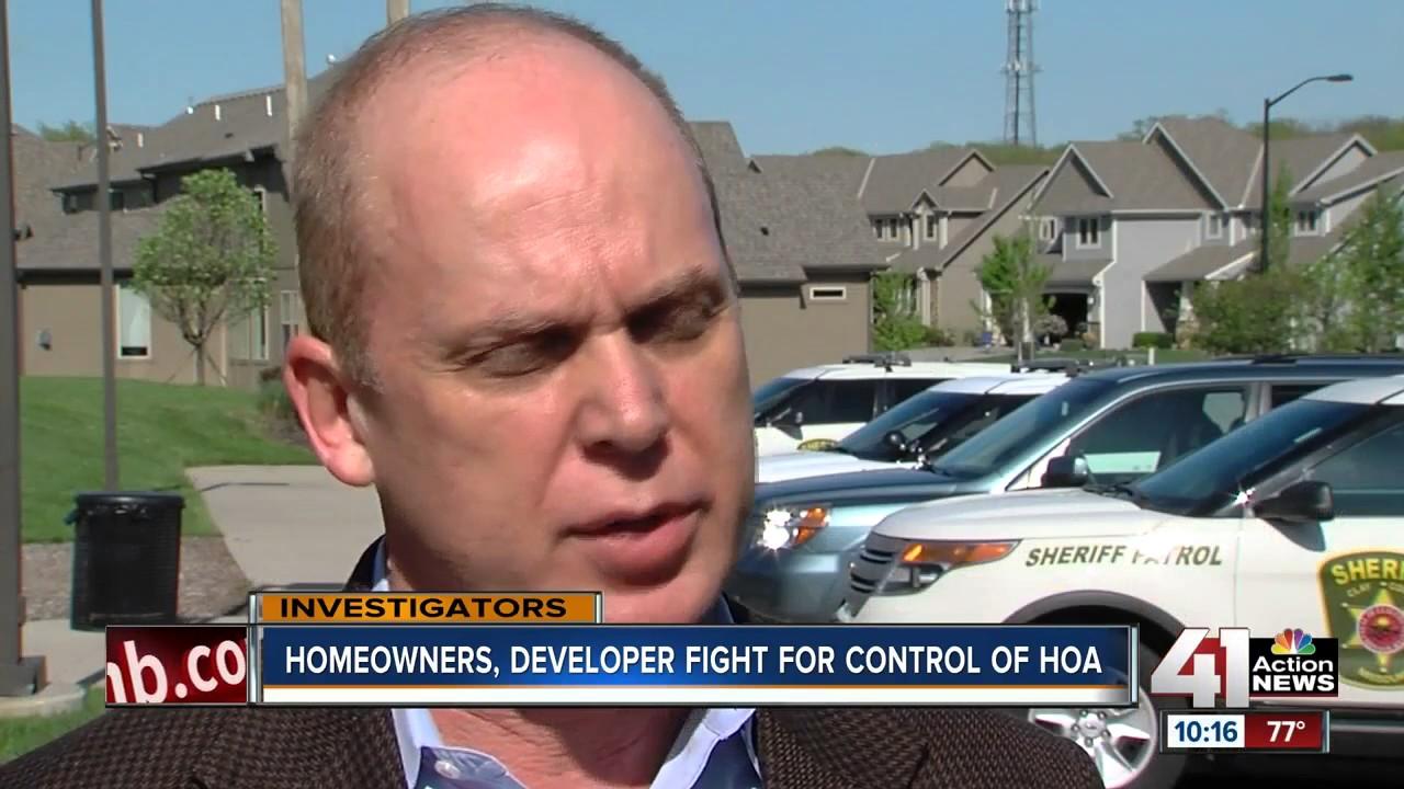 Residents, developer fight for control of HOA