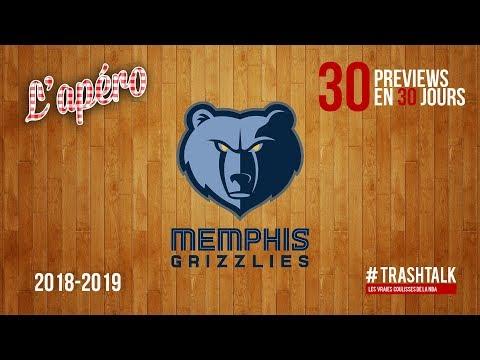 NBA Preview 2018-19 : les Memphis Grizzlies