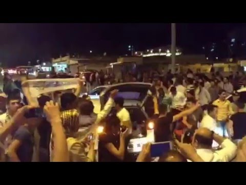 Kurds celebrating in Urfa after 2015 turkish elections