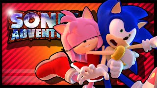 NOW IT'S A FUNNY MONTAGE | Sonic Adventure DX #19