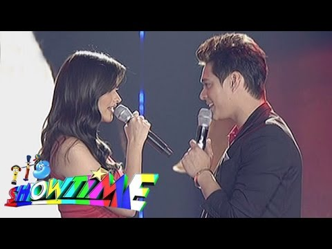 It's Showtime: Liza, Enrique sing