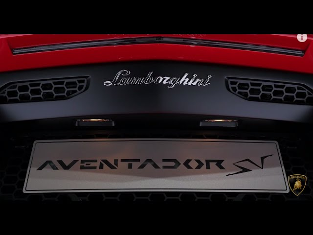 Aventador SV: Lamborghini Press Conference Auto Shanghai 2015