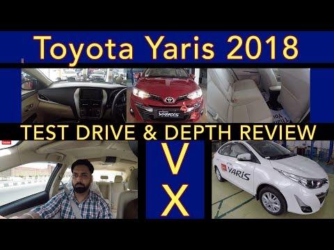 Toyota Yaris top model VX| reveiw |test drive| roadster varun| jalandhar