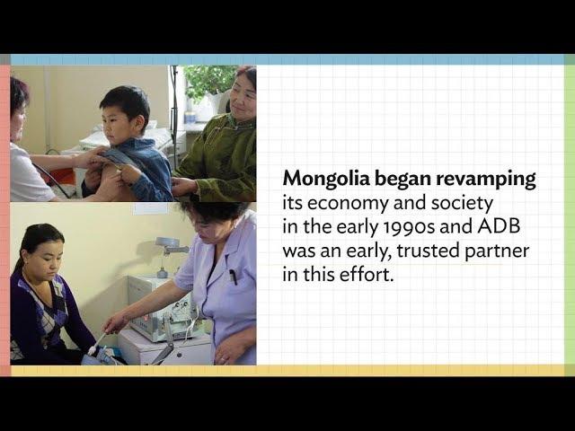 ADB Health Assistance Works: Just Ask Mongolian Herdswoman Oyuntuya Baldan-Ochir