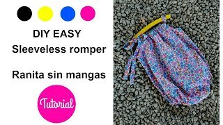 Video DIY Baby sleeveless pillowcase romper pattern mod. Amelie download MP3, 3GP, MP4, WEBM, AVI, FLV Agustus 2017