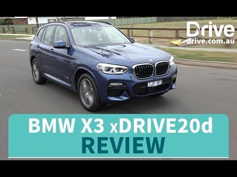 2018 BMW X3 xDrive20d Review   Drive.com.au - Dauer: 3 Minuten, 32 Sekunden