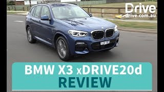 2018 BMW X3 xDrive20d Review | Drive.com.au