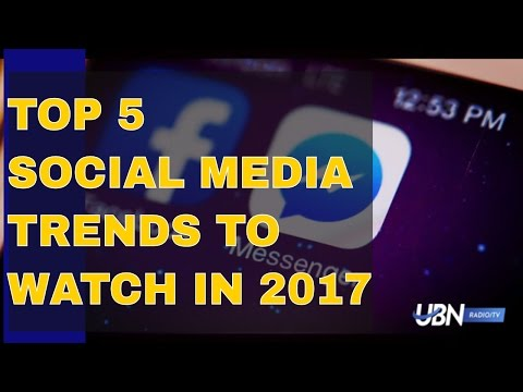 5 Social Media Trends That Will Dominate 2017 – The Millennial Report