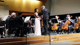 Mahler Symphony No 4 - Anne-Marie Ramos and the SPO