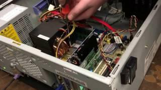 A Sata hard drive!? Project Quadro 2017: Episode 3, Part 1