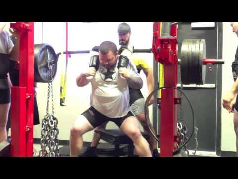 Max Effort SSB Squats 3-2-13