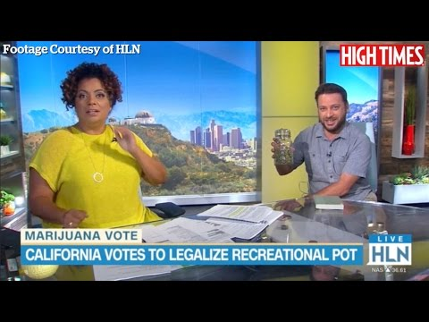 HIGH TIMES Editor Brings an Ounce of Cannabis on Live TV