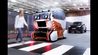Virtual eyes look at trust in self-driving cars