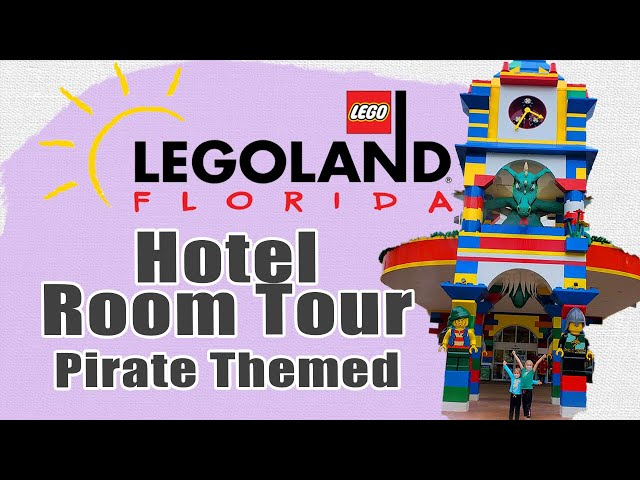 HOTEL ROOM TOUR 2021 LEGOLAND FLORIDA | Pirate Themed Room | COVID Changes | In-Depth Walkthrough
