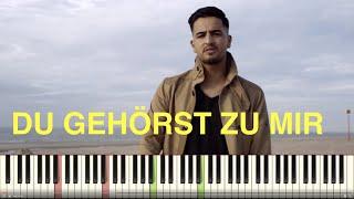MC Bilal Du gehörst zu mir Piano Tutorial Instrumental Cover