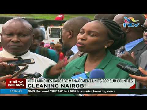 Nairobi City County launches garbage management units for sub counties