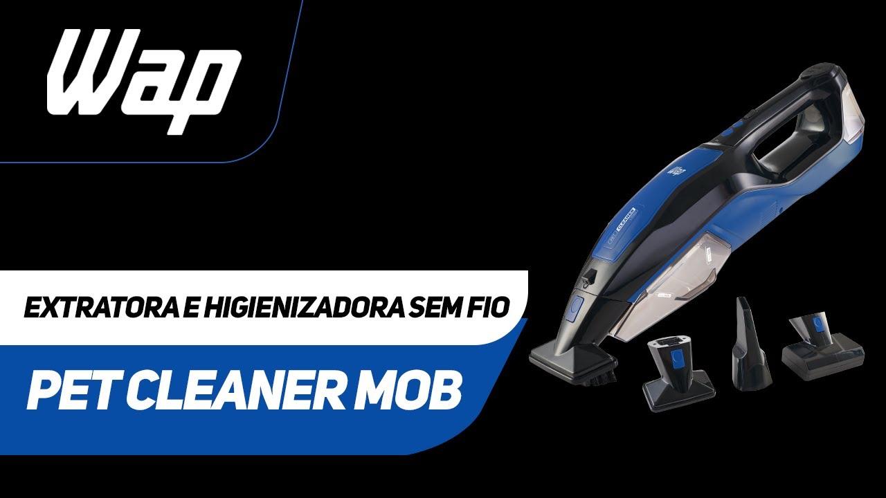 Extratora e Higienizadora Sem Fio | PET CLEANER MOB