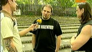 VIVA TV - Casketgarden interview, May 1, 2004 - Petőfi Hall, Gothica Fesztivál