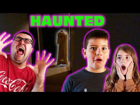 Kid Temper Tantrum Pranks Dad With a Fake Ghost! - Our New House Is Haunted - [ Halloween 2019 ]