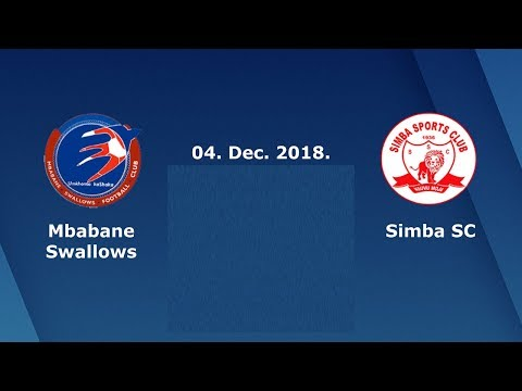 CAF Champions League Simba Sports VS Mbabane Swallows