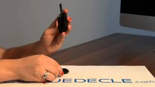 Télécommande coque de clé plip 3 boutons Renault Clio Kangoo Master Trafic Vivaro